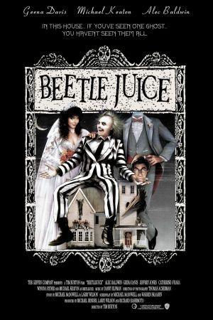 TB168. Beetle Juice (III) / Movie Poster (1988) / #Movieposter / #Timburton