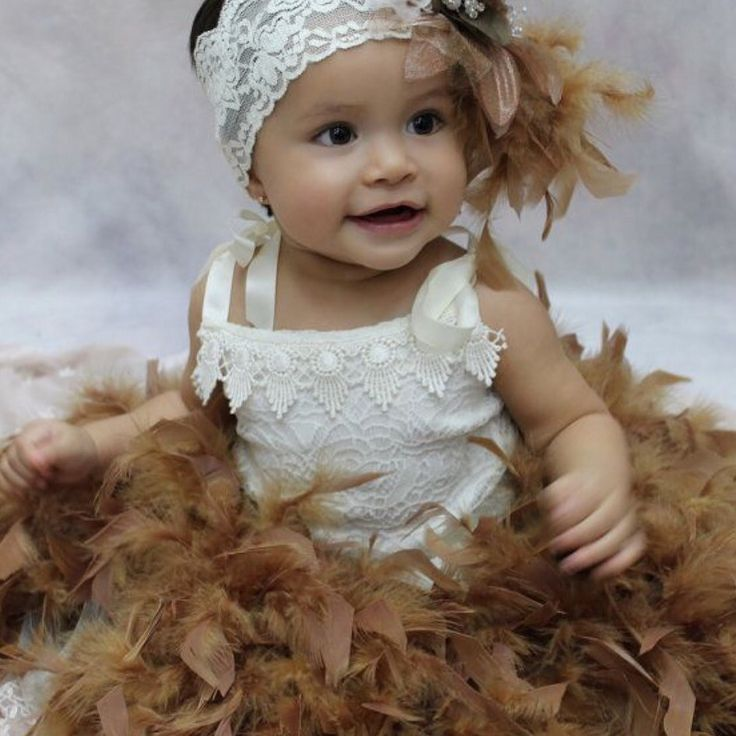 JANNEL feather tutu set by Elena