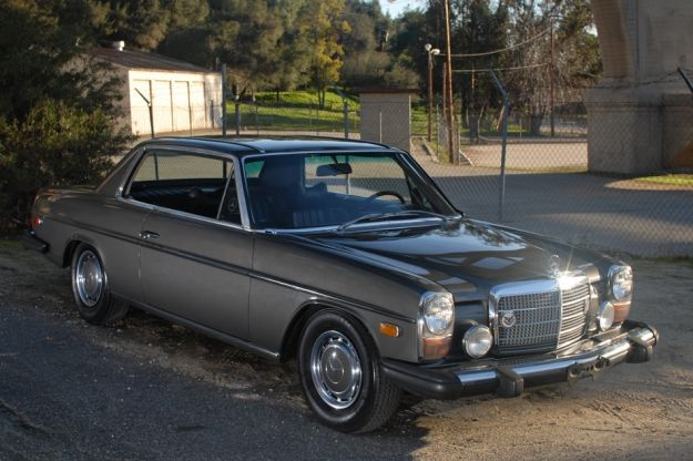 Mercedes motoring 1974 280c gasoline coupe for Mercedes benz of hunt valley