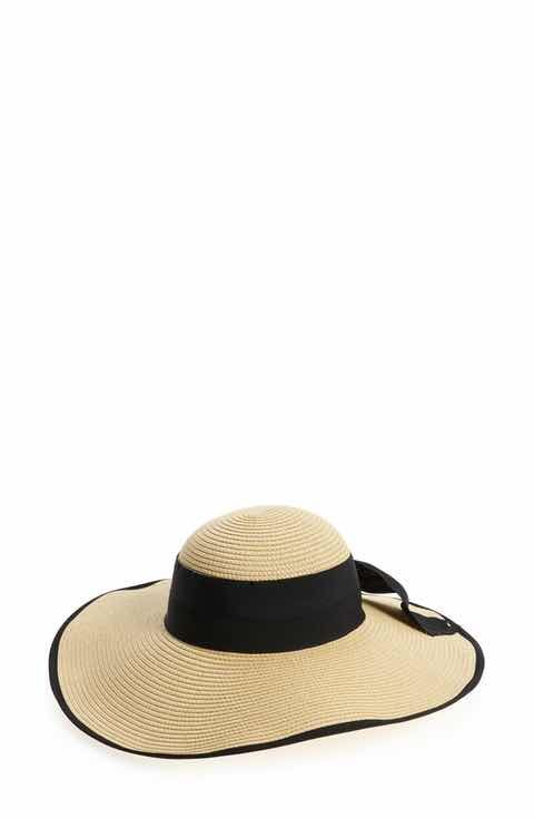 BP. Bow Floppy Straw Hat