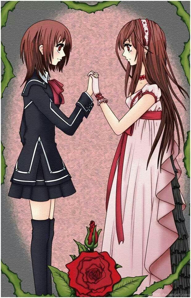 Yuki old and new self Vampire Knight Pinterest