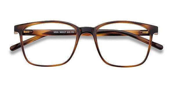 Soul Square Black Brown Frame Eyeglasses Eyebuydirect Black And Brown Eyebuydirect Eyeglasses