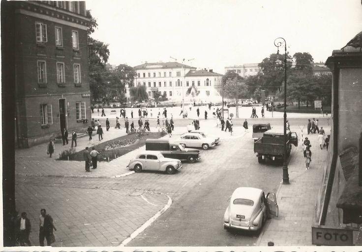 ul. Kościuszki, lata 60. XX w. źródło; Małgorzata Rodos