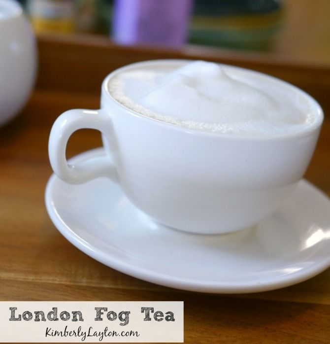 London Fog Tea Recipe...you have to try this! #tea #recipe