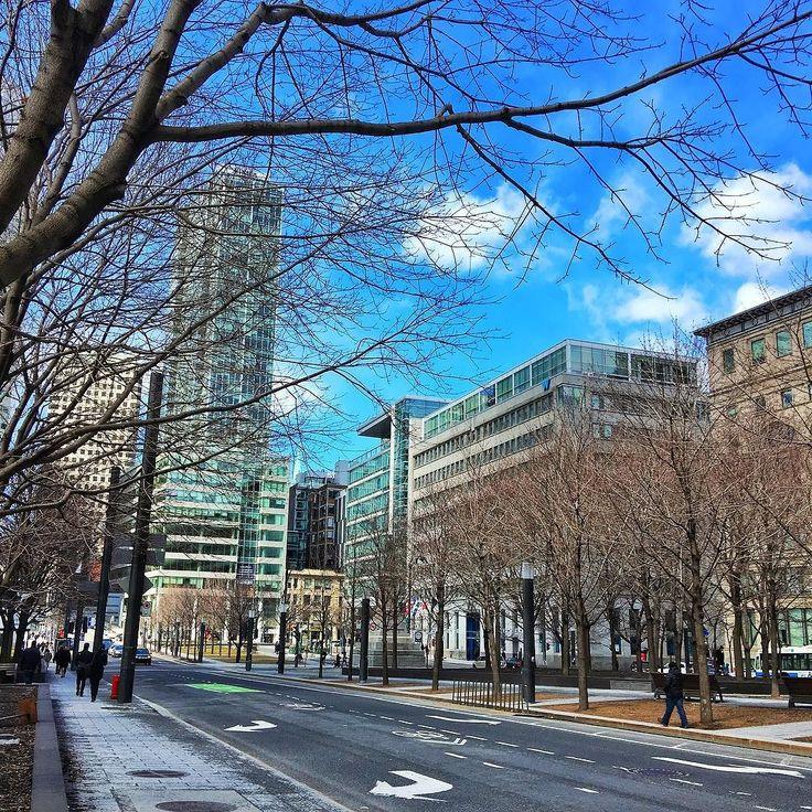 Montréal au printemps  #mtlcity #explorecanada #mtlstreets #montrealcity #montrealjetaime