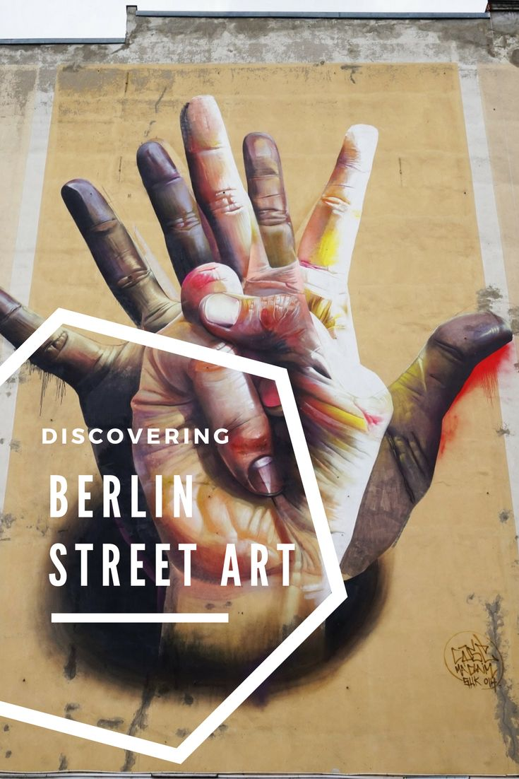 Discovering the fascinating street art in #berlin