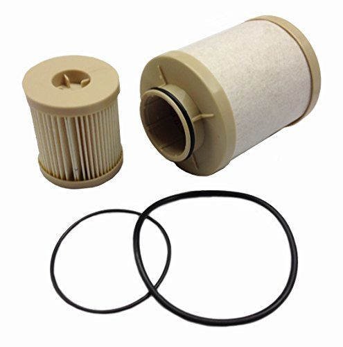 Ford 6.0L 2003-2007 updated 4616 Diesel Fuel Filter Pack includes lower lifter pump filter and upper fuel bowl filter ADT-60-FD-4616 Ford F250 F350 F450 F550 F650 EXCURSION FD-4616 Replacements