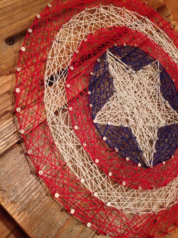 Custom made string art! Names, logos and symbols!