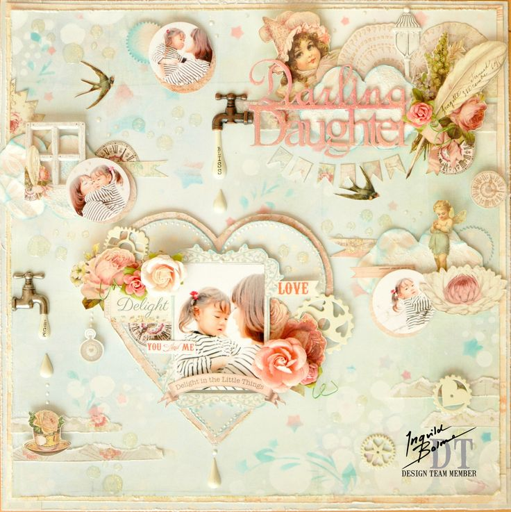 This is a layout for the Prima and Ingvild Bolme Bloghop.