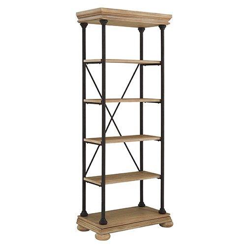 Shennifin Large Bookcase - Light Brown - Ashley Furniture  Milan Direct $760