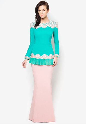 Chantilly Clarissa Baju Kurung BUY JOVIAN MANDAGIE FOR ZALORA TRADITIONAL WEAR FOR WOMEN