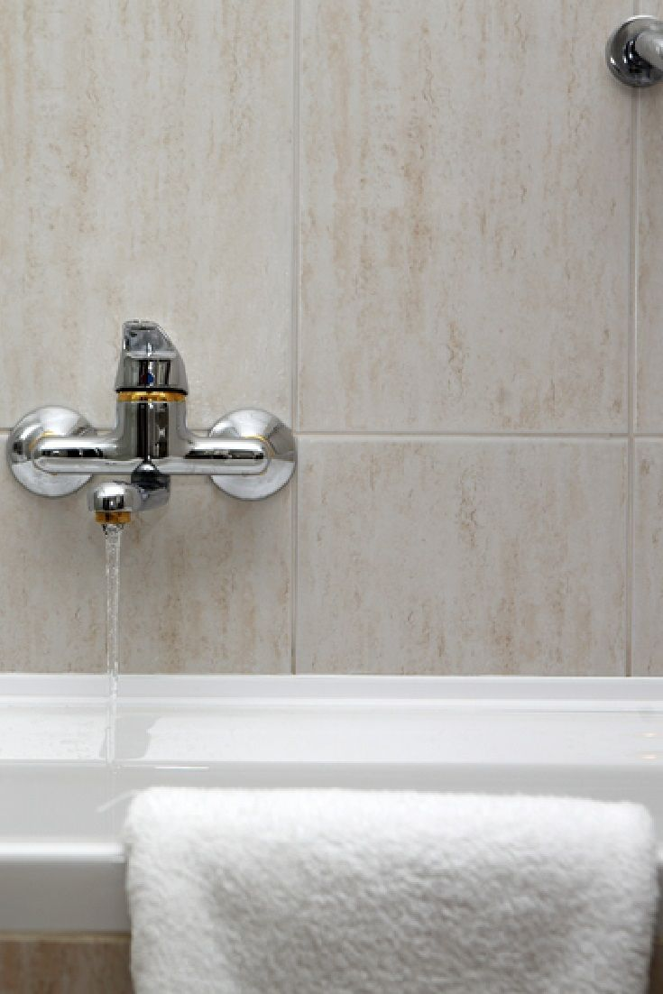 A Tap Running Into Washbasin Bathroom Faucets Contemporary