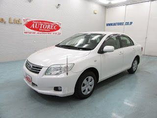 Japanese vehicles to the world: 19552A3NQ 2010 Toyota Corolla Axio for Kenya to Mo...