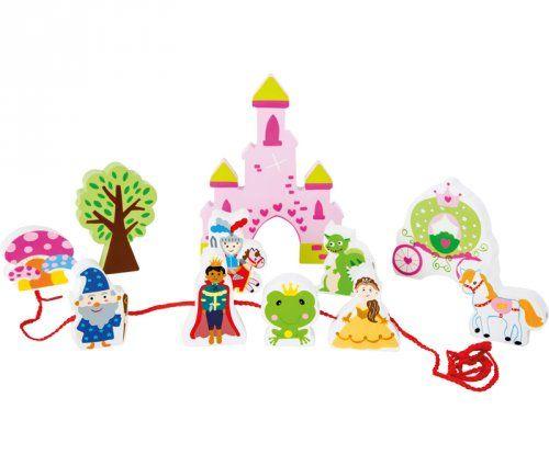 Παραμυθένιο κάστρο με κορδόνια/ Fairytale castle threading play set