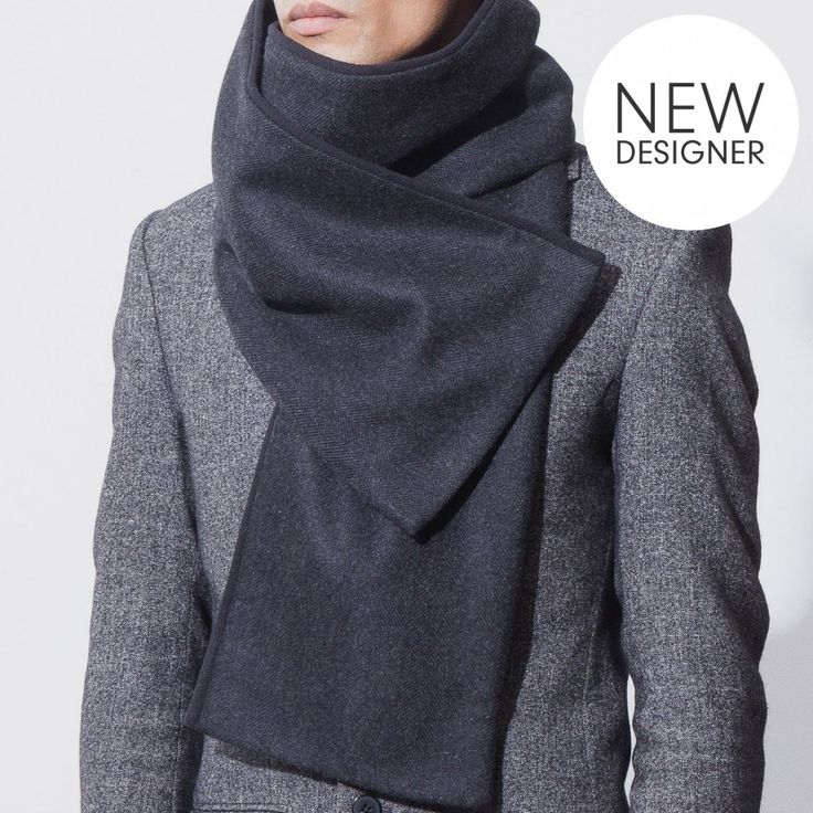 Rugged Scarves & Shawls from Berlin