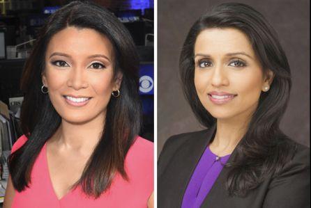 Elaine Quijano & Reena Ninan, CBS News Anchors