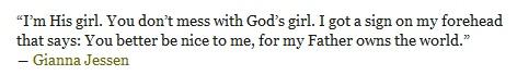 Gianna Jessen quote
