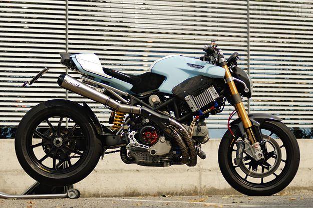 "Ducati Multistrada ""Biuta"" - Great example of for following function."
