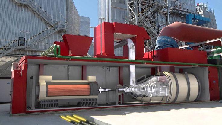 Le fonctionnement d'une centrale biomasse