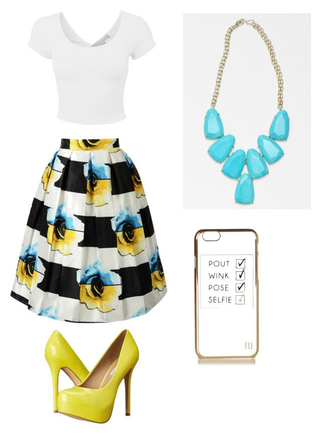 """Liv Rooney: Liv and Maddie"" by twizzler0106 on Polyvore featuring Steve Madden, Kendra Scott and River Island"