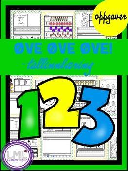 Her får du øveark til tallene 0 - 10. Elevene får øvelse i finmotorikk, tallforming, gjenkjenne tallene, skrive tellestreker, tallinjer, finne mengder, nabotall og tall-labyrinter. Alle arkene har en farget bord, partallene har grønn bord og oddetallene gul bord.