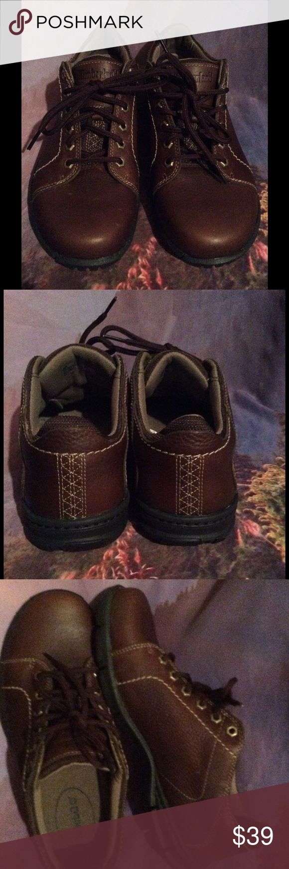 Men's Timberland brown oxfords shoes For work or a casual weekend!! Super cool Timberland shoes! Excellent condition Timberland Shoes