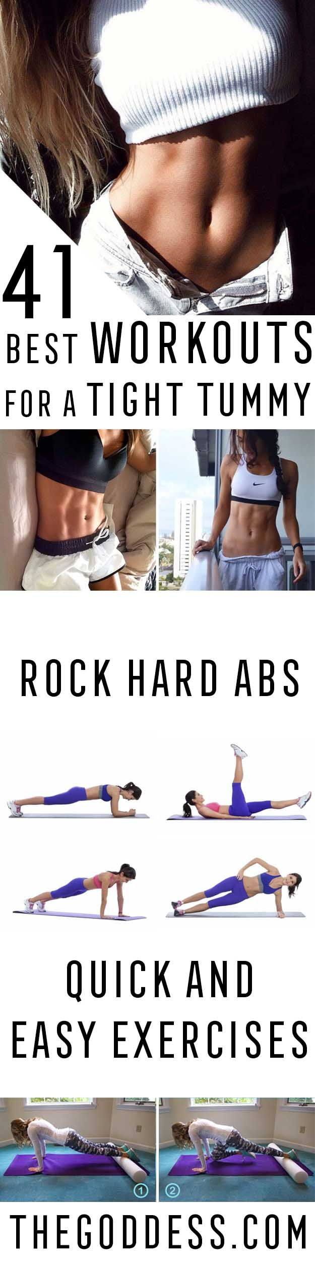 Best Workouts for a Tight Tummy - Ab Exercises and Ab Routine Ideas for Upper and Lower Abs - Get rid of that Belly Pooch, Love Handles or Muffin Top - Workouts and Motivation to Get In Shape, You don't Even Need a Gym - Weightloss Tips for a Healthy Life How to lose weight fast in 2017 get ready to summer #weightloss #fitness