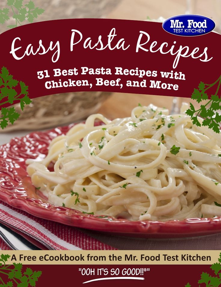 Best pasta recipe for company