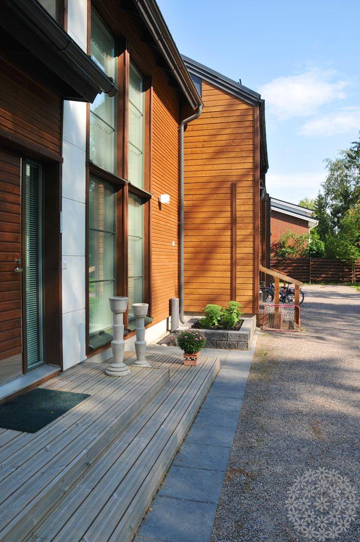 Rivitalopiha ilman nurmikkoa | Puutarhasuunnittelu Puksipuu | Garden design Puksipuu by Sari Lampinen http://www.puksipuu.com/project/825/