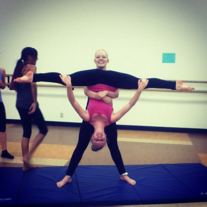 Learning New Tricks In Acro Dancey Dance Dance