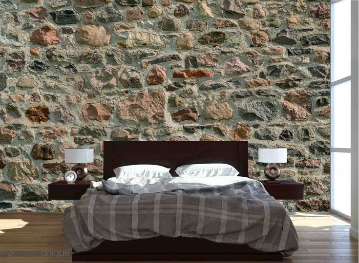 17 meilleures id es propos de papier peint pierre sur pinterest osier peints pierre marie. Black Bedroom Furniture Sets. Home Design Ideas