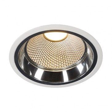LED Downlight PRO R, rund, weiss, inkl. LED Disk Modul 800, 2700K / LED24-LED Shop
