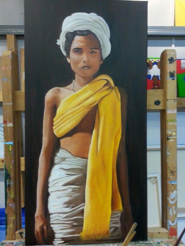 Mijn eerste schilderij