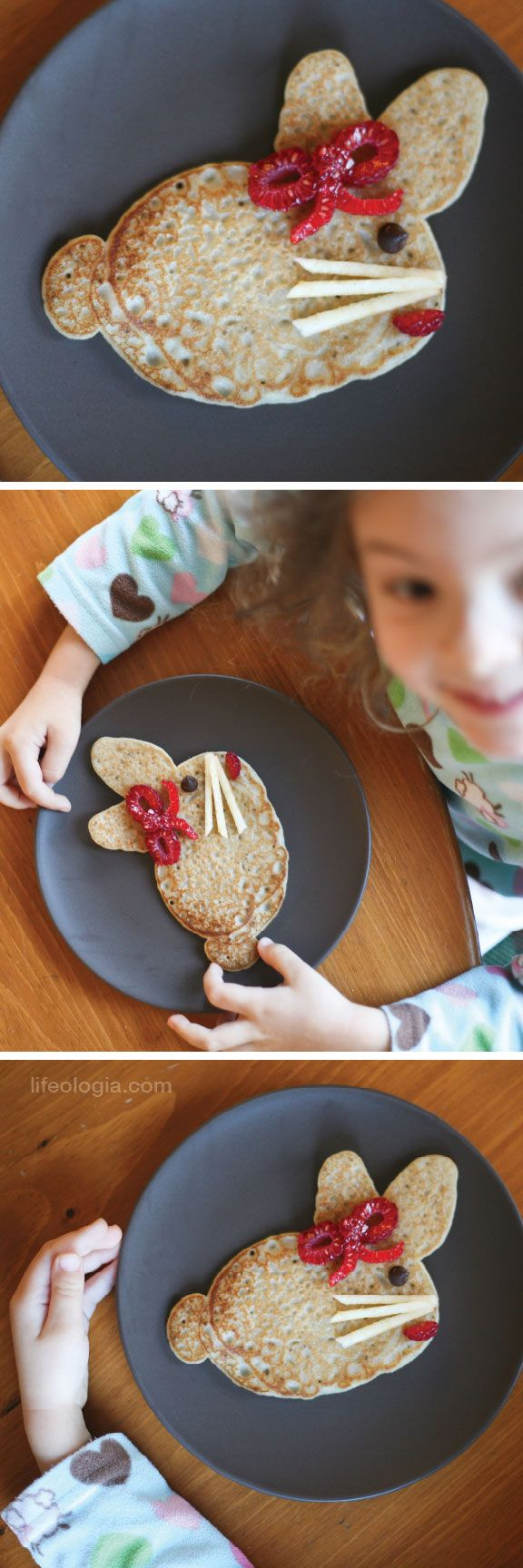 pancake bunnies: Breakfast Ideas, Brunch Ideas, Kiddo Food, Easter Bunnies, Easter Spr, Easter Food, Easter Bunny, Bunnies Pancakes, Easter Ideas