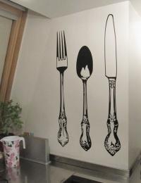 Renueva tu cocina con un objetos original. Con los stickers decorativos da un toque nuevo de una forma fácil, rápida y limpia.Altura: 65 cm; Ancho: 15 cm