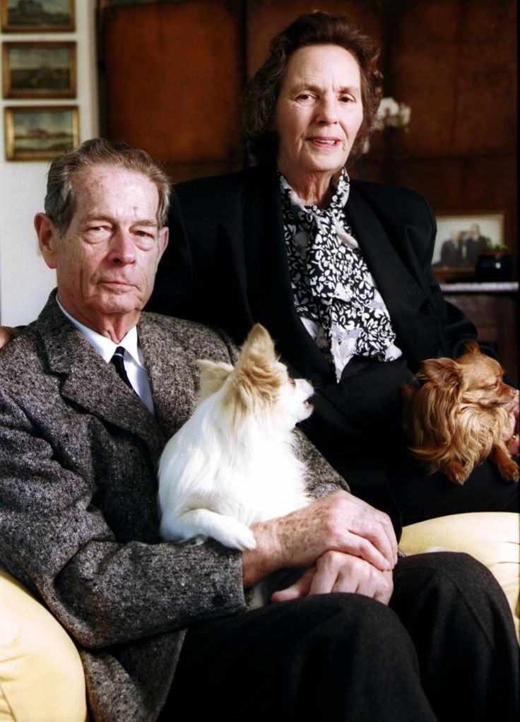 King Michael and Queen Anne in their old age. They've been married for SIXTY-FIVE years!