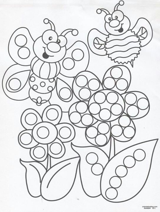 dot art coloring pages free - photo#26