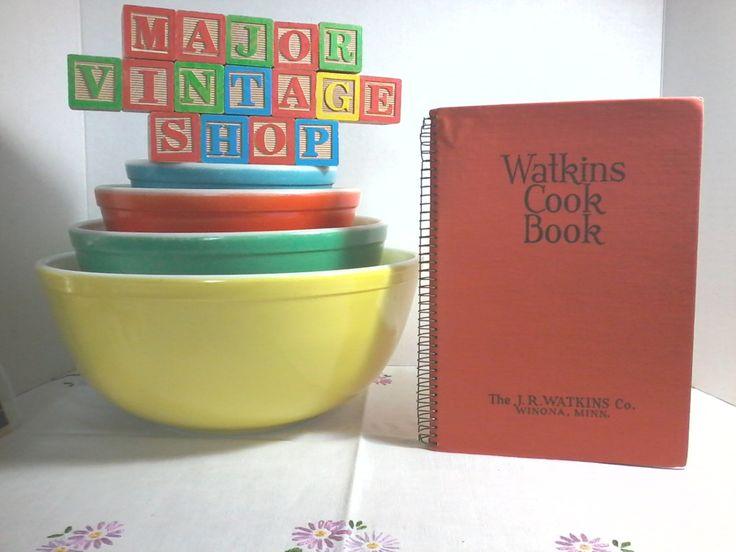 1936 Watkins Cook Book by MajorVintageShop on Etsy