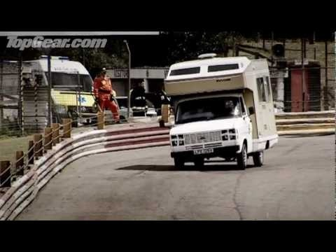 This cheers me up anytime I am having a bad day! Extreme motorhome racing - Top Gear - BBC
