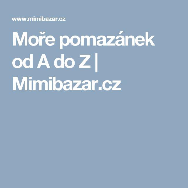 Moře pomazánek od A do Z | Mimibazar.cz
