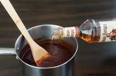 Captain Morgan BBQ Sauce 1 Cup Brown Sugar ½ Cup Chili Sauce ¼ Cup Soy Sauce ¼ Cup Ketchup ¼ Worcester Sauce 1 Tsp. Dry Mustard 1 Tbsp. Pepper 2 Cloves Crushed Garlic ½ Cup Original Captain Morgan Original Spiced Rum