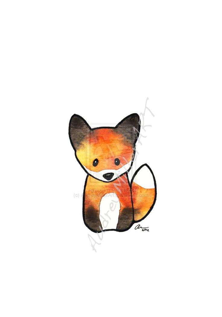 The Fox by AudreyMillerArt.deviantart.com