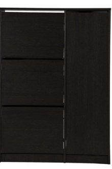 Burrell 18 Pair Shoe Storage Cabinet 2 220x330 Storage solutions to prevent a cluttered home