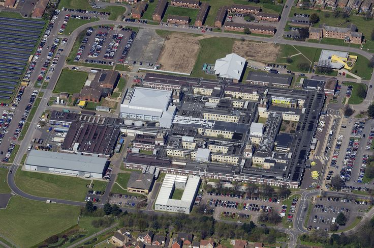 James Paget University Hospitals - Overhead Great Yarmouth Aerial Images   by John D F