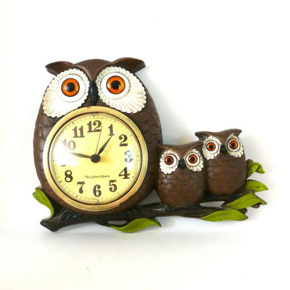 Vintage Owl Kitchen Decor: 25+ Best Ideas About Owl Clock On Pinterest