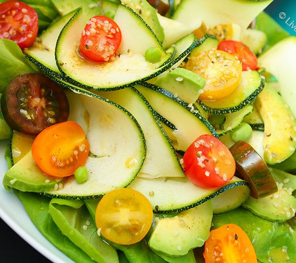 Luscious Salad by Live Love Raw. Order it today in Marbella, Spain! http://www.liveloveraw.com/alchemy-foods-menu-raw-vegan-catering-in-marbella-spain/