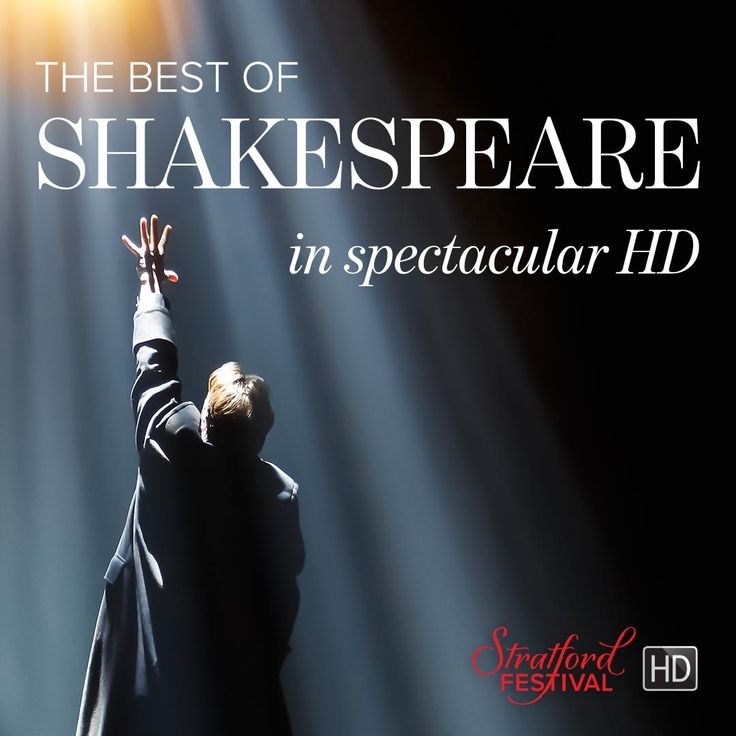 Stratford Festival HD tickets are now on sale! Experience the best of Shakespeare in spectacular HD, premièring soon at a cinema near you! #StratfordHD #Films #ComingSoon #Theatre #Shakespeare #Shakespeare400 #sfHamlet #sfPericles #sfShrew