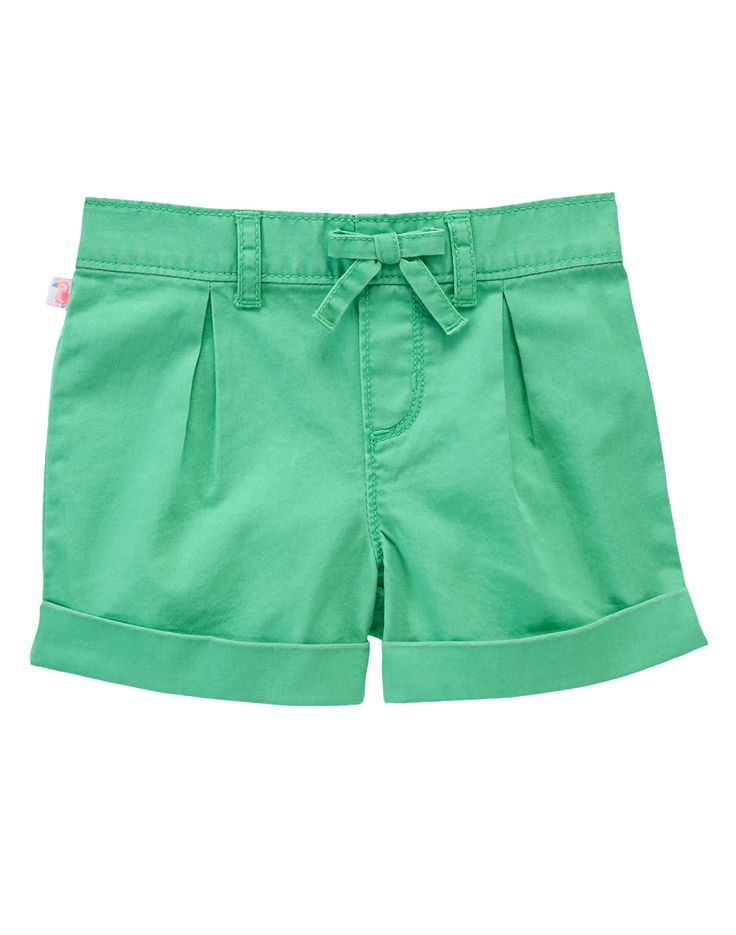 Cuffed Twill Shorts at GymboreeCollection Name: Island Cruise (2015)