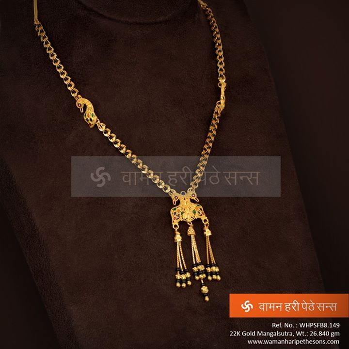 #Classy #Designer #Gold #Mangalsutra from our Collection.
