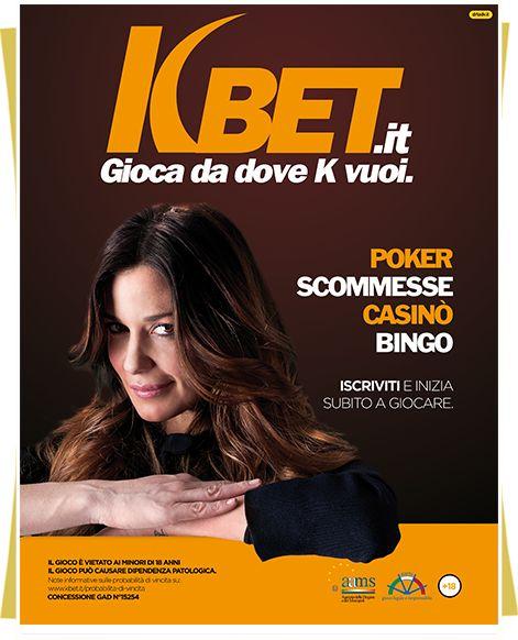 Campagna istituzionale multisoggetto per Kbet firmata DRT con Alessia Fabiani #advertising